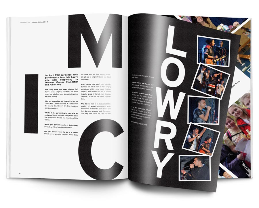 Design For Schools Redesign Of Belvedere Magazine