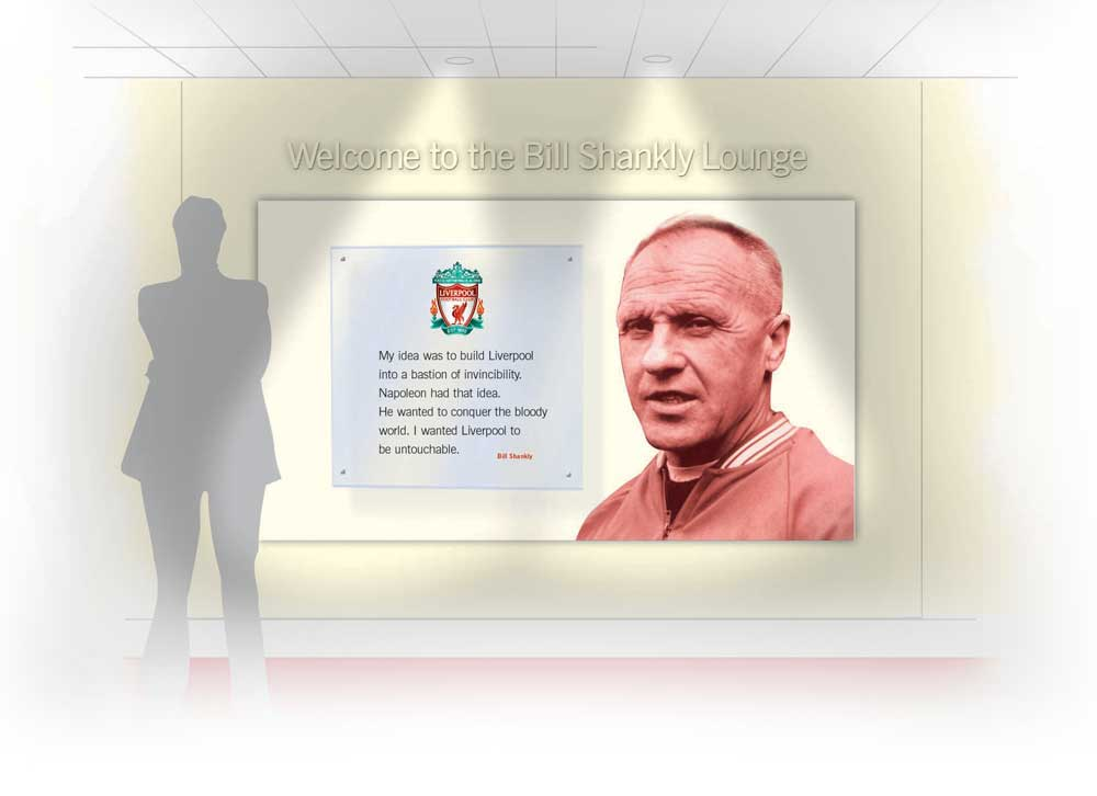 LFC shankly and paisley lounges